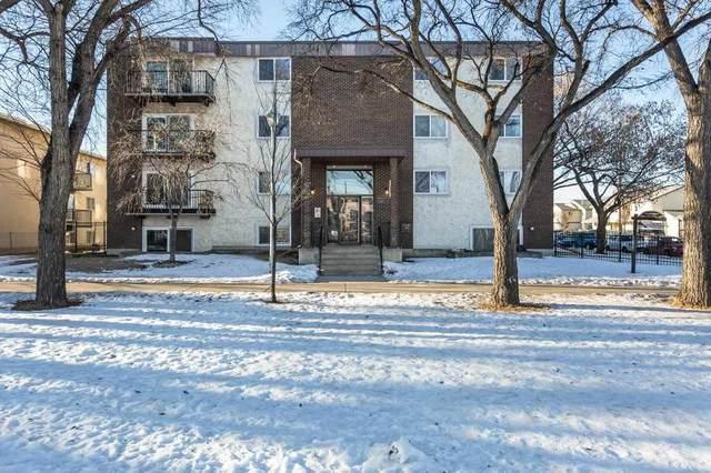 305 10740 105 Street NW, Edmonton, AB T5H 2X2 (#E4224454) :: The Foundry Real Estate Company