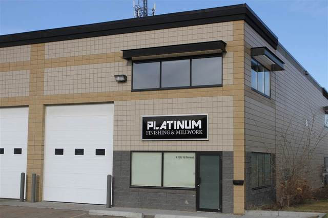 #100 16 Renault Cr, St. Albert, AB T8N 4B8 (#E4224467) :: The Foundry Real Estate Company
