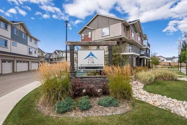 72 12815 Cumberland Road, Edmonton, AB T6V 0M2 (#E4224578) :: The Foundry Real Estate Company