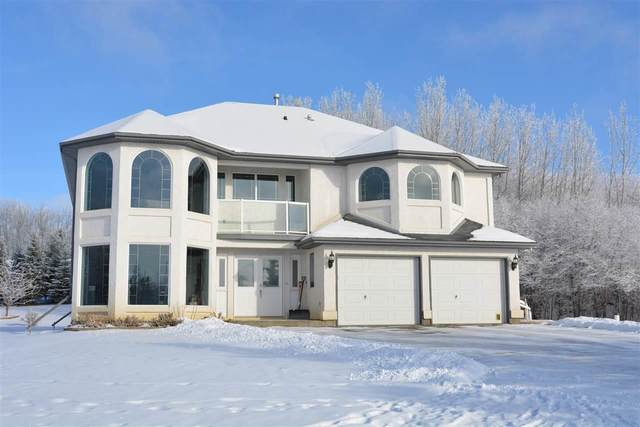 18 53302 RGE RD 12, Rural Parkland County, AB T7Y 0B9 (#E4224633) :: The Foundry Real Estate Company