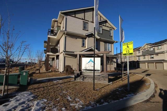 49 50 Mclaughlin Drive, Spruce Grove, AB T7X 0K3 (#E4224646) :: The Foundry Real Estate Company