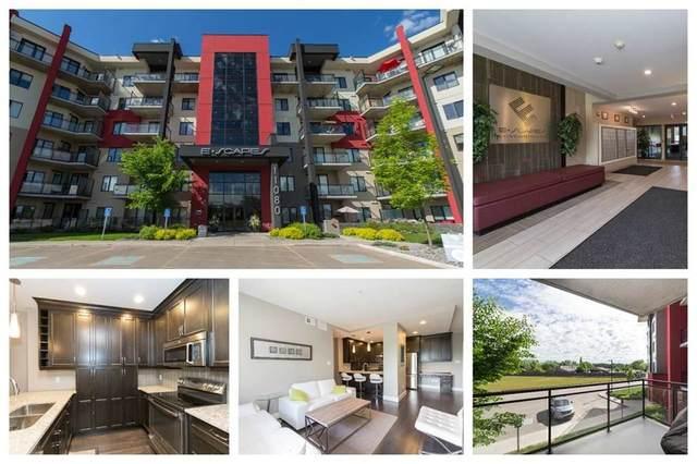 216 11080 Ellerslie Road, Edmonton, AB T6W 2C2 (#E4224657) :: The Foundry Real Estate Company