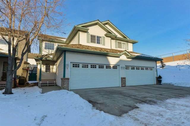 5 211 Blackburn Drive E, Edmonton, AB T6W 1C8 (#E4224705) :: The Foundry Real Estate Company