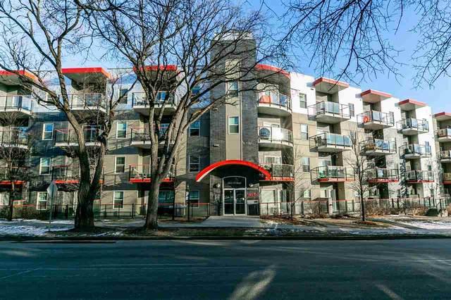 112 10611 117 Street, Edmonton, AB T5H 0G6 (#E4224748) :: The Foundry Real Estate Company