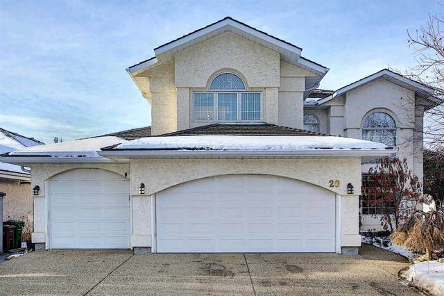 20 Kensington Place, St. Albert, AB T8N 5W9 (#E4224797) :: The Foundry Real Estate Company