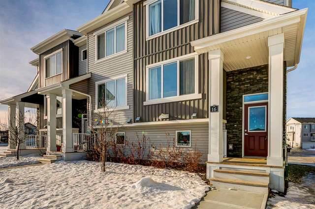16 2121 Haddow Drive, Edmonton, AB T6R 0W6 (#E4224915) :: The Foundry Real Estate Company