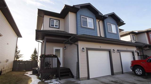 3 16004 54 Street, Edmonton, AB T5Y 0R1 (#E4225004) :: The Foundry Real Estate Company