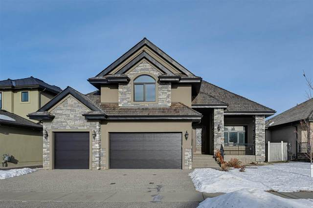 6 Kingsmeade Crescent, St. Albert, AB T8N 4C8 (#E4225020) :: The Foundry Real Estate Company