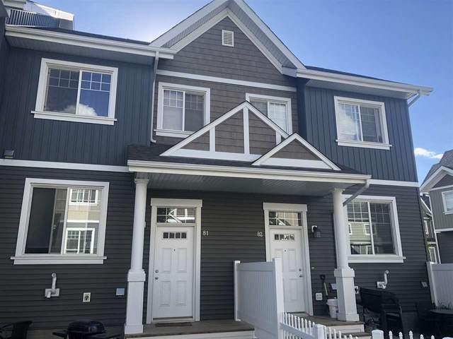 81 4050 Savaryn Drive, Edmonton, AB T6X 1R8 (#E4225032) :: The Foundry Real Estate Company