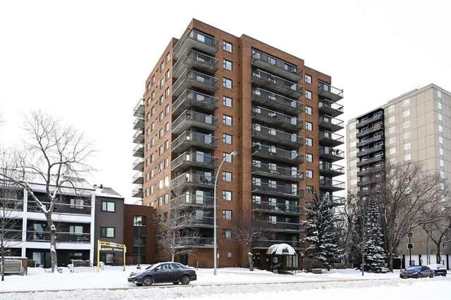 1002 10545 Saskatchewan Drive, Edmonton, AB T6E 6C6 (#E4225058) :: The Foundry Real Estate Company
