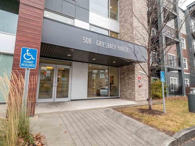 316 508 Griesbach Parade, Edmonton, AB T5E 6V9 (#E4225071) :: The Foundry Real Estate Company