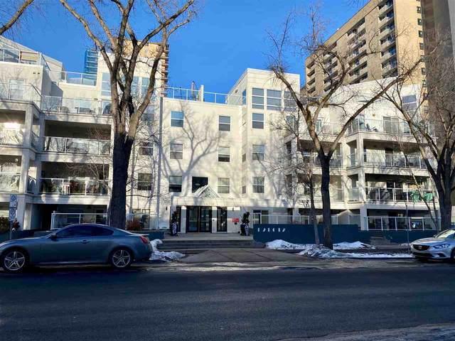 110 12028 103 AVE, Edmonton, AB T5K 2T9 (#E4225111) :: Initia Real Estate