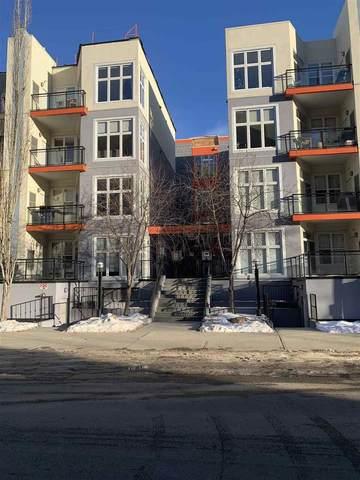 412 10147 112 Street, Edmonton, AB T5K 1M1 (#E4225126) :: Initia Real Estate