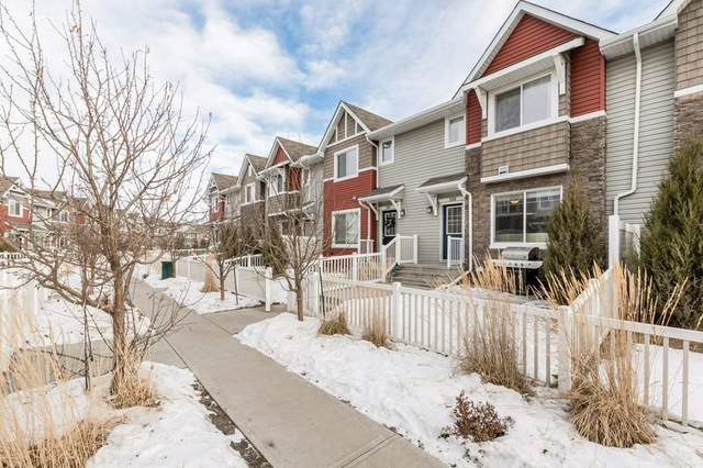 100 655 Tamarack Road, Edmonton, AB T6T 0N4 (#E4225144) :: The Foundry Real Estate Company