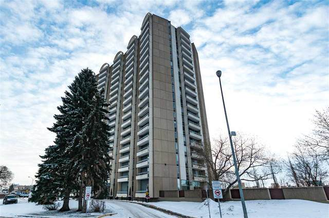 804 10883 Saskatchewan Drive, Edmonton, AB T6E 4S6 (#E4225177) :: The Foundry Real Estate Company
