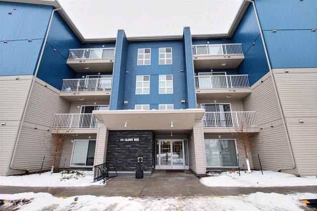 111 610 Calahoo Road, Spruce Grove, AB T7X 1R1 (#E4225261) :: The Foundry Real Estate Company