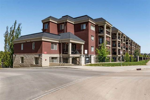 102 501 Palisades Way, Sherwood Park, AB T8H 0H8 (#E4225262) :: The Foundry Real Estate Company