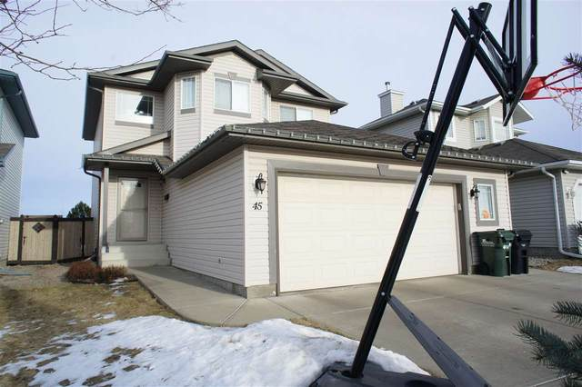 45 Sunflower Crescent, Sherwood Park, AB T8H 2M2 (#E4225273) :: The Foundry Real Estate Company