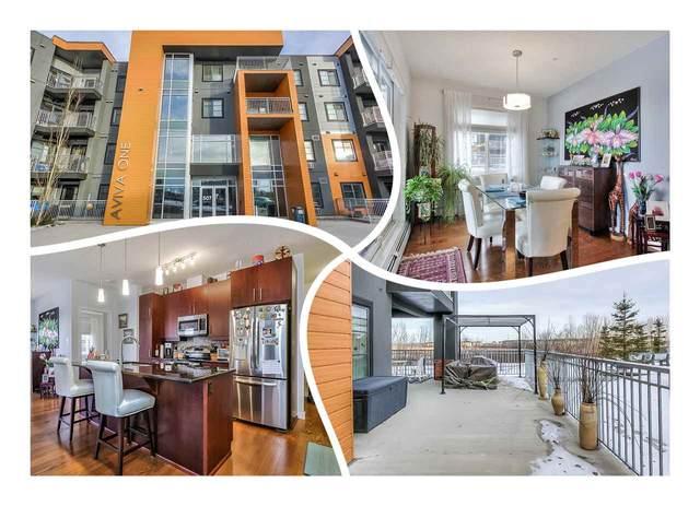 116 507 Albany Way, Edmonton, AB T6V 0H2 (#E4225279) :: The Foundry Real Estate Company