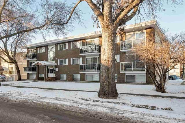 103 10720 84 Avenue, Edmonton, AB T6E 2H9 (#E4225312) :: The Foundry Real Estate Company