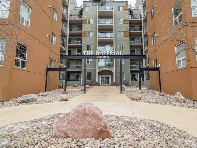 615 10235 112 Street, Edmonton, AB T5K 1M7 (#E4225353) :: The Foundry Real Estate Company