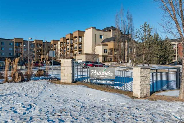 412 400 Palisades Way, Sherwood Park, AB T8H 0H4 (#E4225476) :: The Foundry Real Estate Company