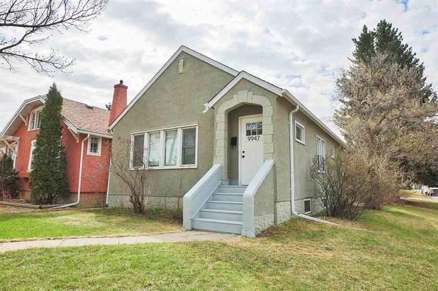 9947 89 Avenue, Edmonton, AB T6E 2S6 (#E4225536) :: The Foundry Real Estate Company