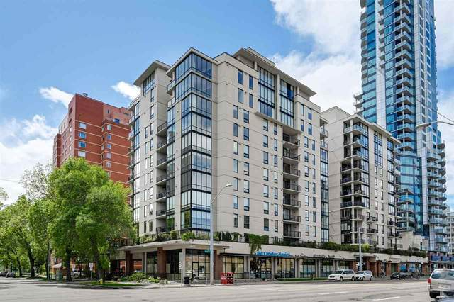 701 10028 119 Street, Edmonton, AB T5K 1Y8 (#E4225575) :: The Foundry Real Estate Company