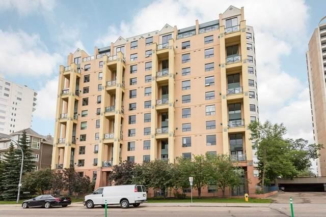 504 10855 Saskatchewan Drive, Edmonton, AB T6E 6T6 (#E4225589) :: The Foundry Real Estate Company