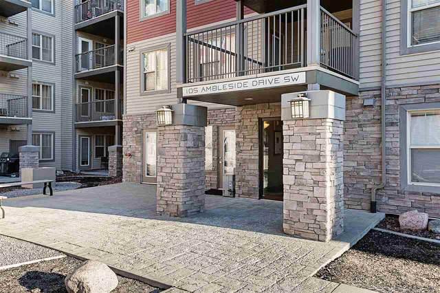 401 105 Ambleside Drive, Edmonton, AB T6W 0J4 (#E4225647) :: The Foundry Real Estate Company