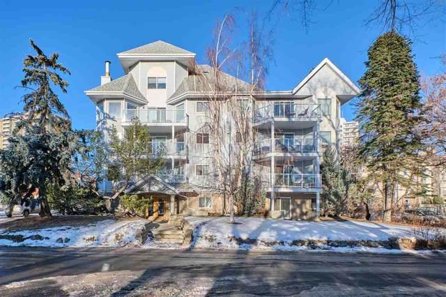 301 10810 86 Avenue, Edmonton, AB T6E 2N2 (#E4225651) :: The Foundry Real Estate Company