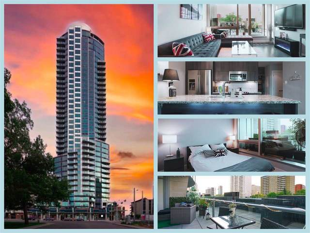 202 11969 Jasper Avenue, Edmonton, AB T5K 0P1 (#E4225739) :: The Foundry Real Estate Company