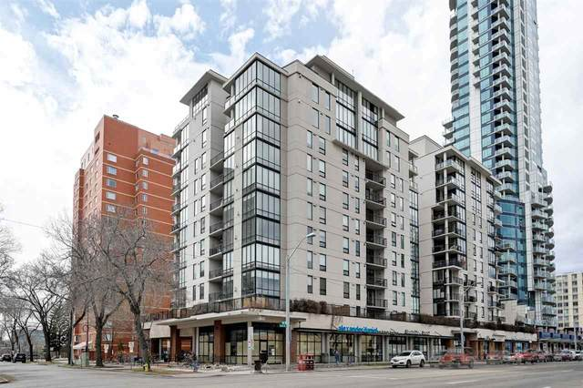 305 10028 119 Street, Edmonton, AB T5K 1Y8 (#E4225772) :: The Foundry Real Estate Company