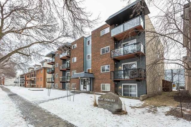 102 10547 83 Avenue, Edmonton, AB T6E 2E1 (#E4225784) :: The Foundry Real Estate Company