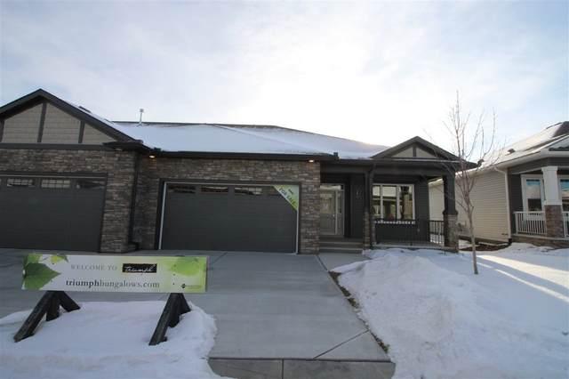 18 7115 Armour Link, Edmonton, AB T6W 2V2 (#E4225865) :: The Foundry Real Estate Company