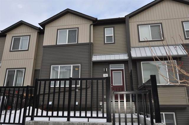 58 16903 68 Street NW, Edmonton, AB T5Z 0R1 (#E4225877) :: The Foundry Real Estate Company
