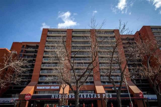 1104 10125 109 Street, Edmonton, AB T5J 3P1 (#E4226093) :: Initia Real Estate