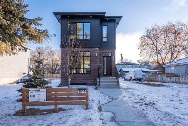 8851 92 Street, Edmonton, AB T6C 3P9 (#E4226175) :: Initia Real Estate