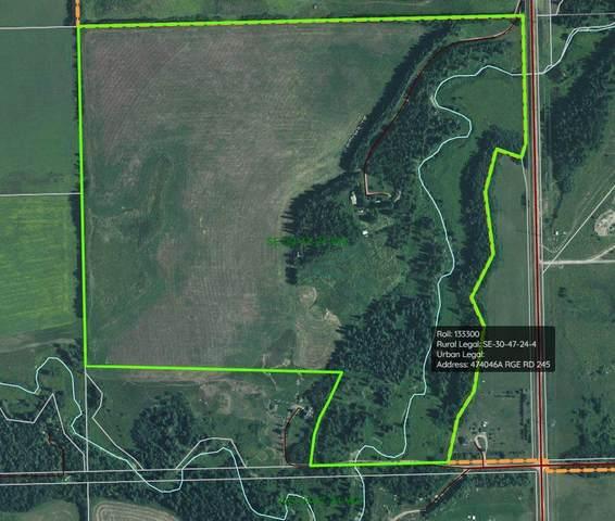 474046A Rge Rd 245, Rural Wetaskiwin County, AB T0C 1Z0 (#E4226182) :: Initia Real Estate