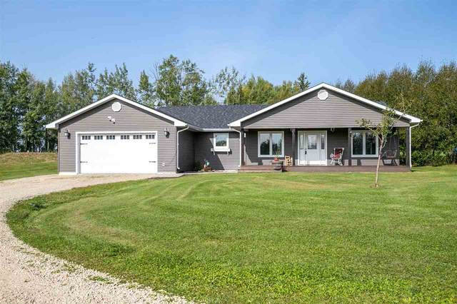 50 62036 TWP RD 462, Rural Wetaskiwin County, AB T0C 0T0 (#E4227467) :: RE/MAX River City