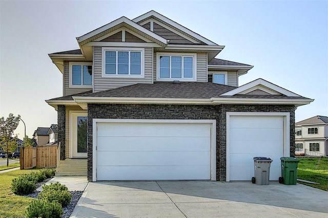 5302 Rue Eaglemont, Beaumont, AB T4X 0H9 (#E4227509) :: Initia Real Estate