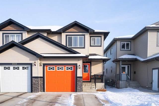 15119 31 Street, Edmonton, AB Y5Y 0S3 (#E4227542) :: RE/MAX River City