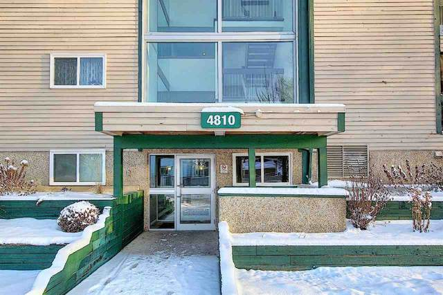 401 4810 Mill Woods Road S, Edmonton, AB T6L 5N9 (#E4227605) :: RE/MAX River City