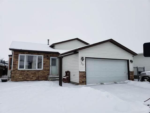 35 Glenwood Crescent, Stony Plain, AB T7X 1A2 (#E4227660) :: Initia Real Estate