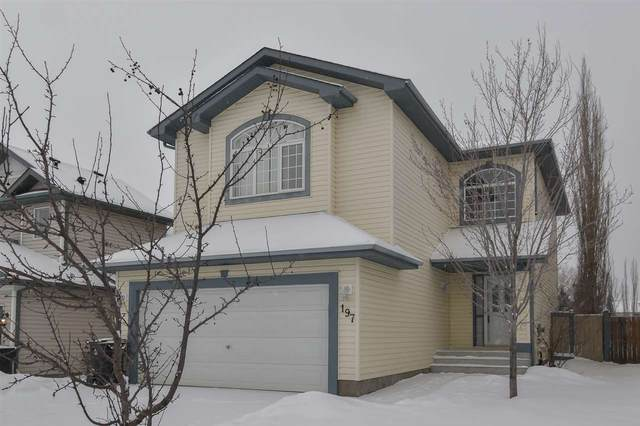 197 Lakewood Drive, Spruce Grove, AB T7X 4H6 (#E4227731) :: RE/MAX River City