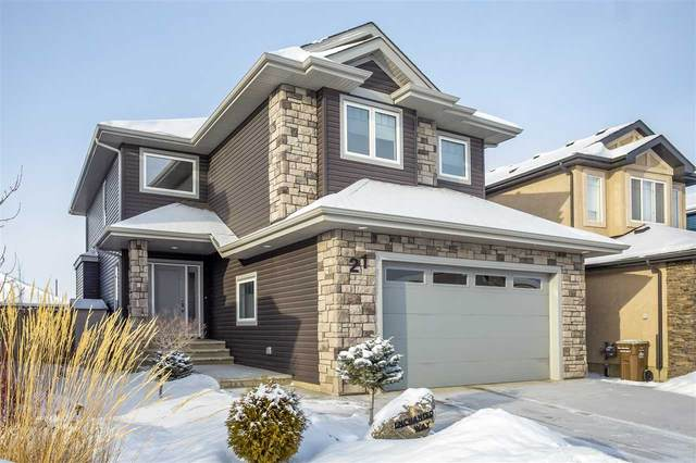 21 Enchanted Way N, St. Albert, AB T8T 1R8 (#E4227745) :: RE/MAX River City