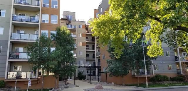 104 10235 112 Street, Edmonton, AB T5K 1M7 (#E4228140) :: RE/MAX River City