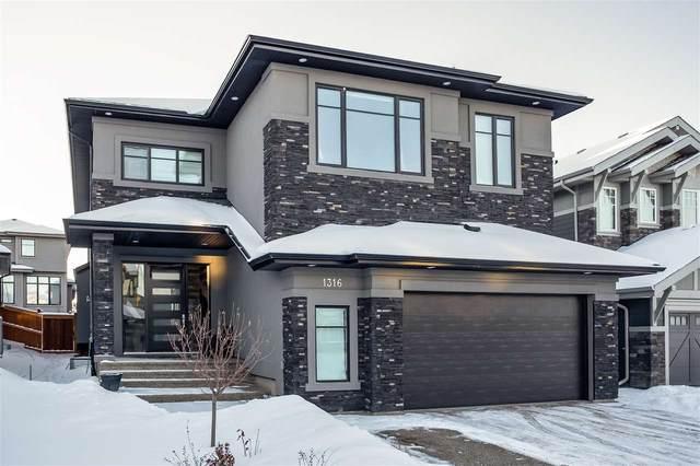 1316 Hainstock Way, Edmonton, AB T6W 3B6 (#E4228150) :: RE/MAX River City