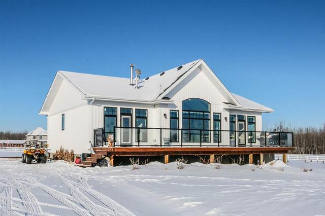 410 21539 TWP RD 503, Rural Leduc County, AB T0M 3M0 (#E4228280) :: The Foundry Real Estate Company