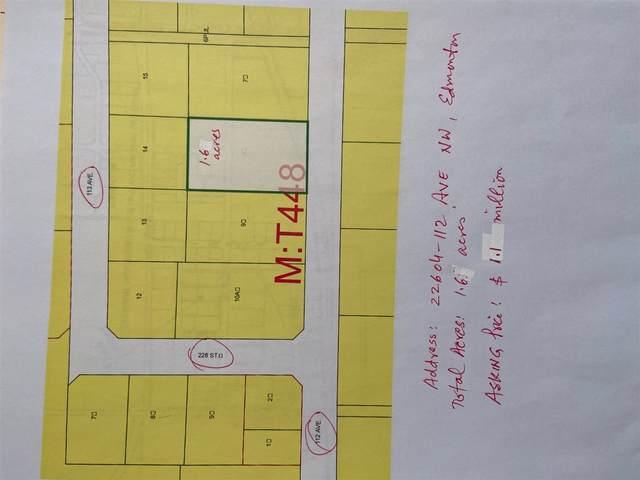 22604 112 AV NW, Edmonton, AB T5S 1Y5 (#E4228803) :: Initia Real Estate